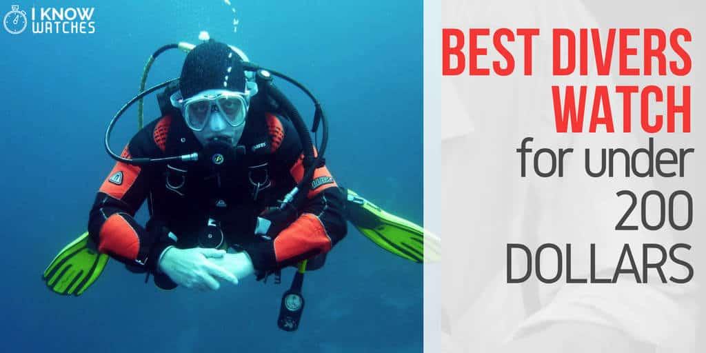 Best divers watch for under 200 dollars