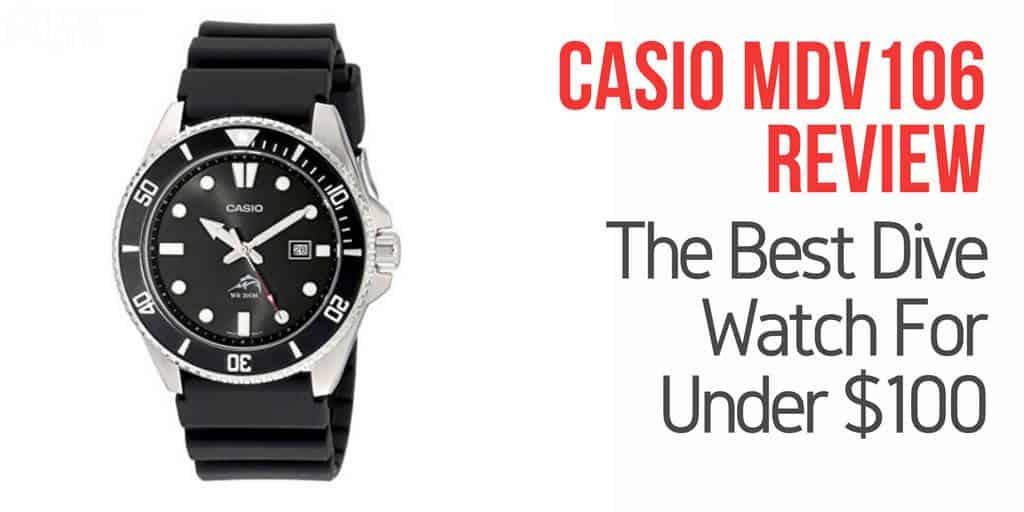 Casio mdv106 dive watch