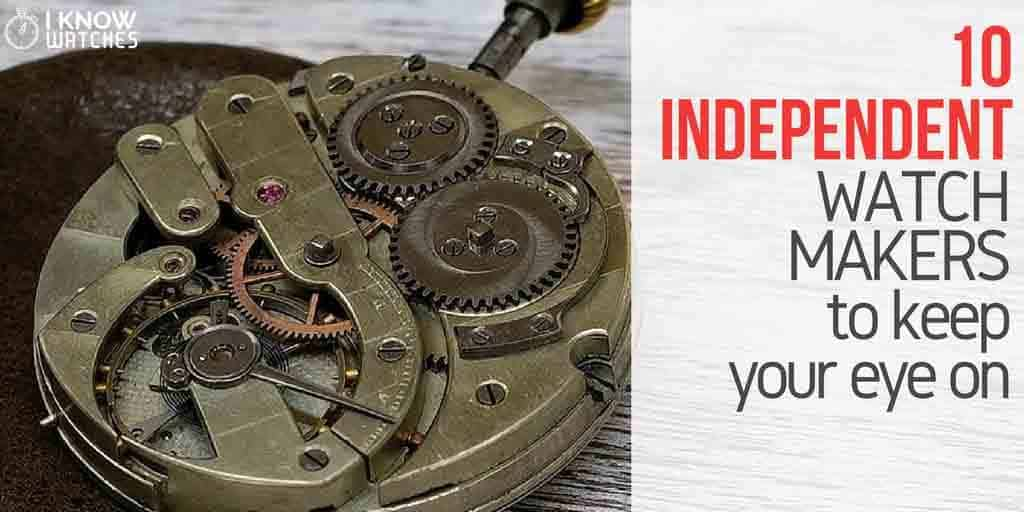 independent watchmakers