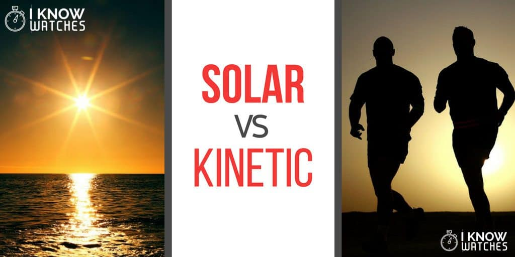 Solar vs Kinetic Seiko Watches