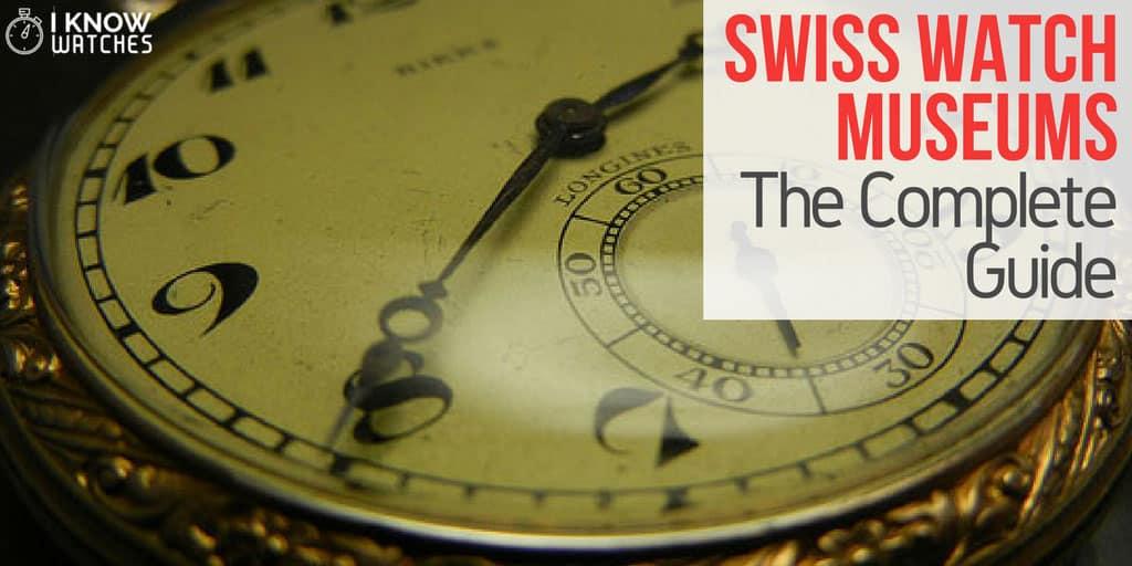swiss watch clock museums