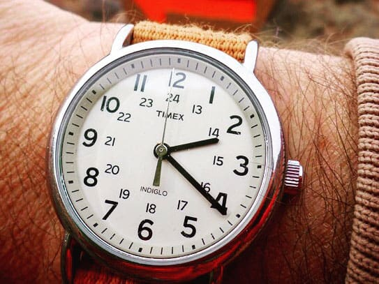Timex Weekender with Nato Strap