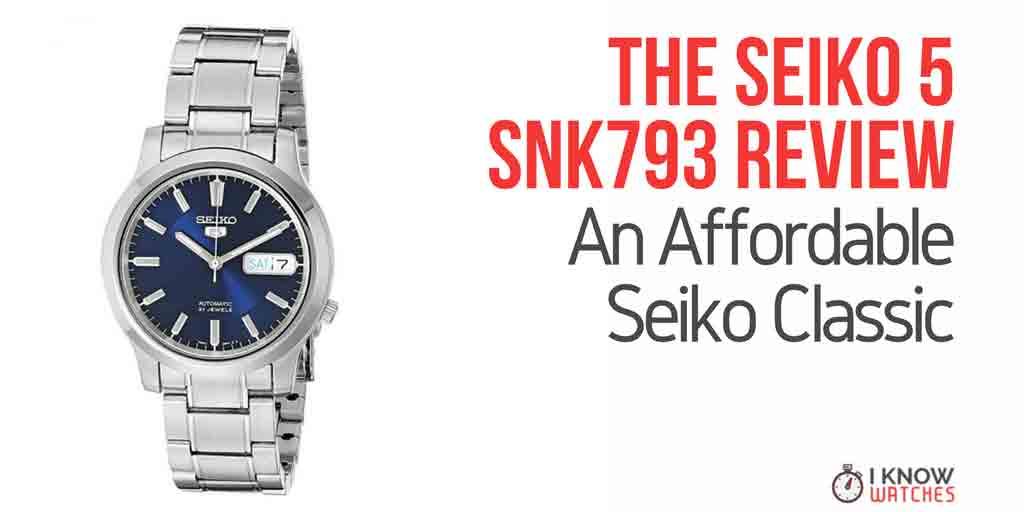 Seiko 5 SNK793 Review