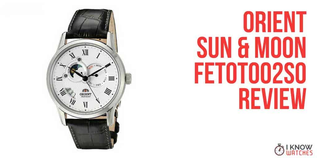 orient sun moon FET0T002S0 review