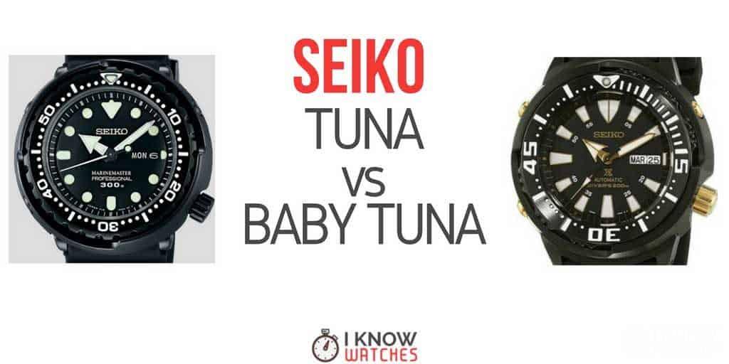 seiko tuna vs baby tuna