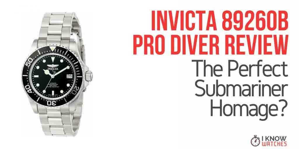 Invicta 8926OB Pro Diver Review