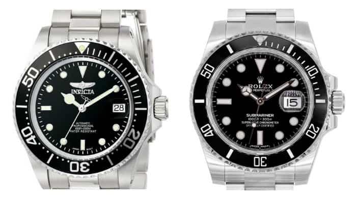Invicta 8926ob vs rolex submariner
