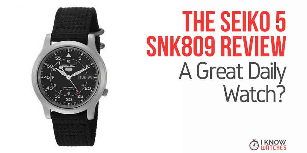 e04223273 Seiko 5 SNK809 Review - A Great Daily Watch? - iknowwatches.com