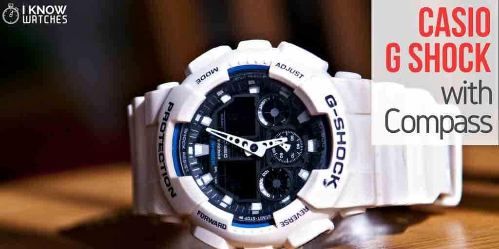 casio g-shock with compass