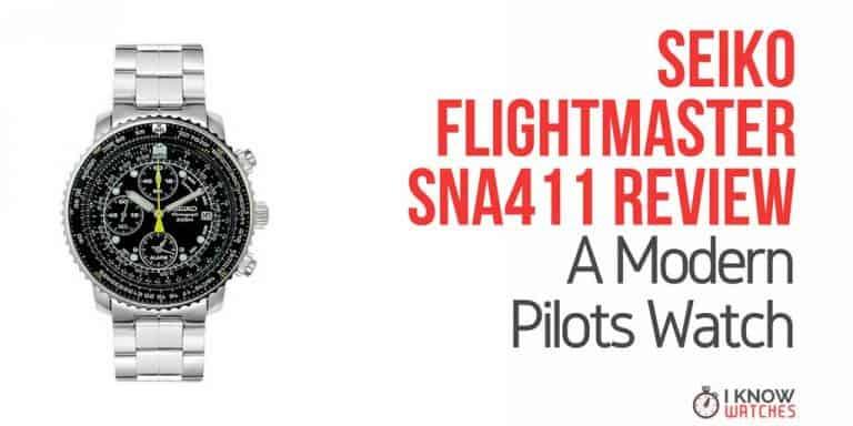 Seiko flightmaster SNA411 Review