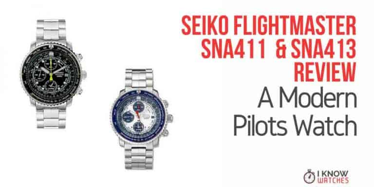 Seiko flightmaster SNA411 SNA413 Review