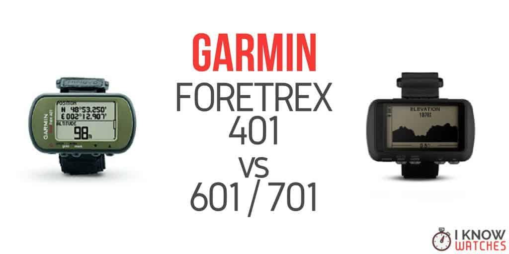 garmin foretrex 401 vs 601-701