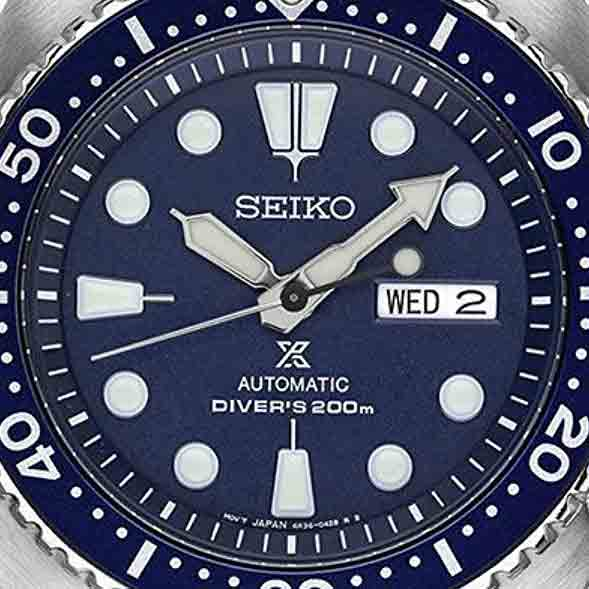 seiko turtle face