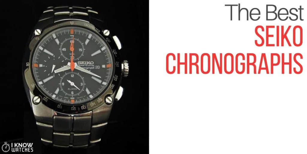 best seiko chronographs
