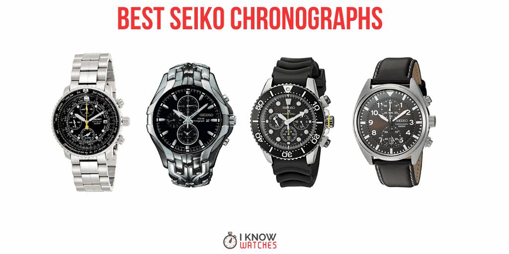 best seiko chronographs