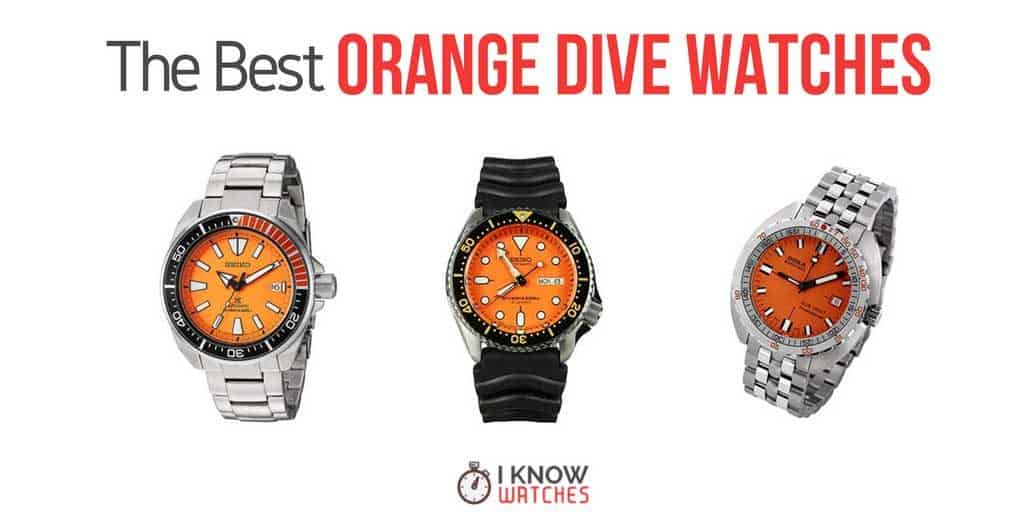 best orange dive watches