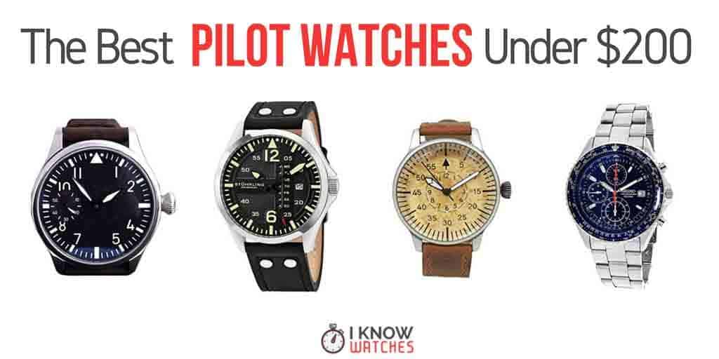 best pilot watches under 200