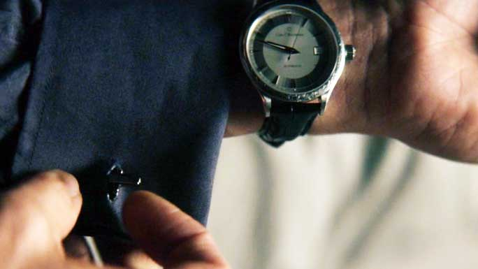 John Wick with Carls F Bucherer Manero Autodate