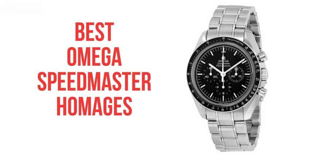 omega speedmaster homages
