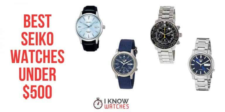 best seiko watches under 500 dollars