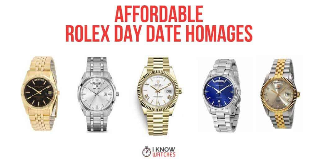 rolex day date president homage
