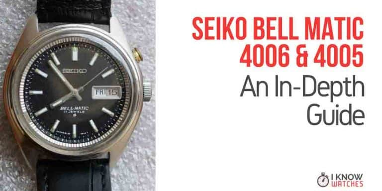 The Seiko Bell Matic (4005, 4006)