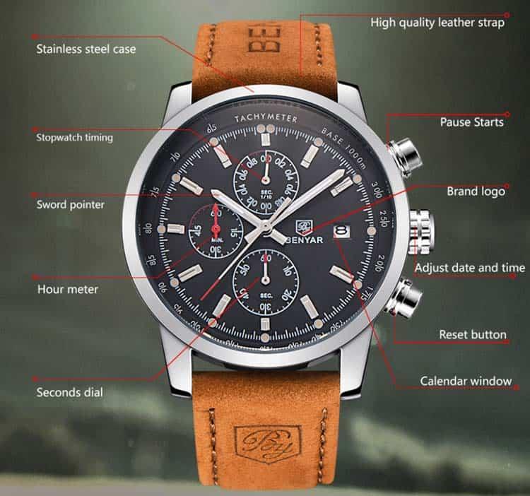 benyar chrono dial