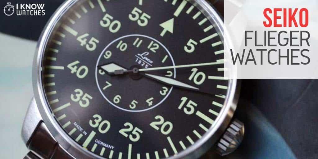 seiko flieger watches