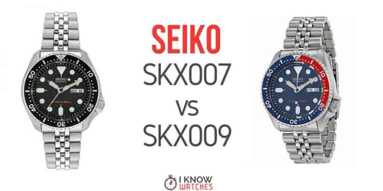 seiko skx007 vs skx009