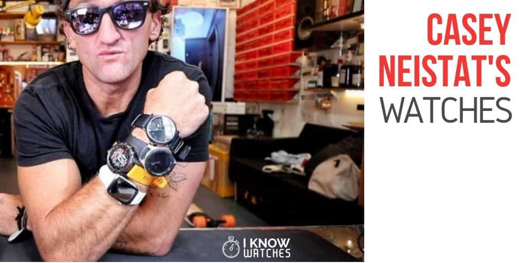 casey neistat various watches