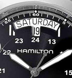 hamilton field khaki king auto dial H64455133 Day Date