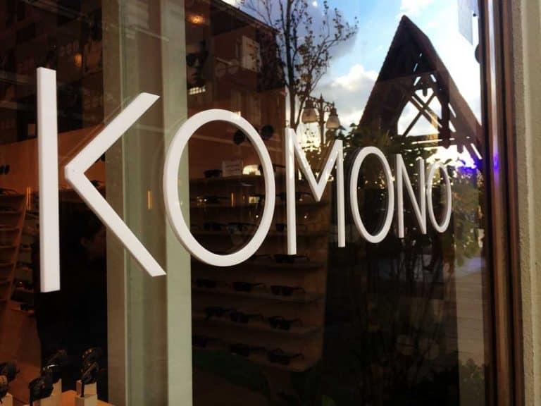 komono shop window