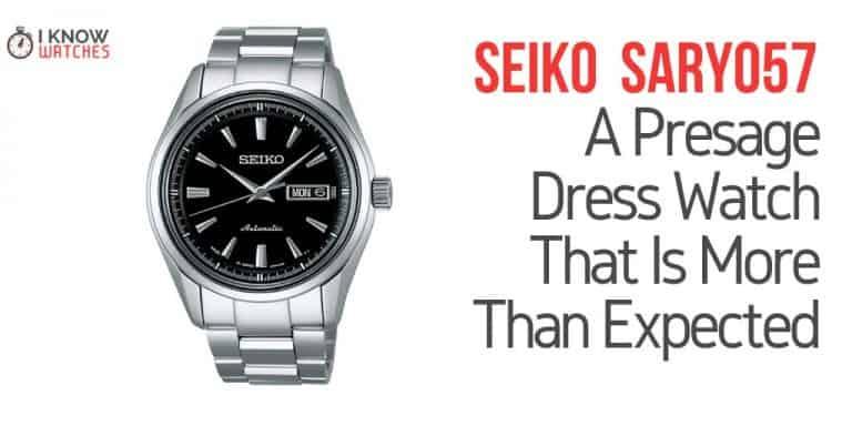 seiko sary057 review watch