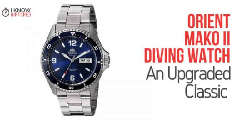 Orient Mako II Diving Watch