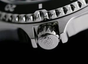 Orient Mako II Stamped Crown