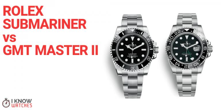 rolex submariner vs gmt master ii