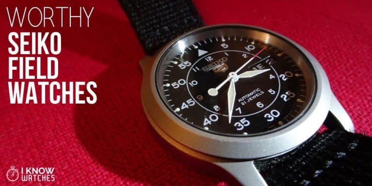 seiko field watches