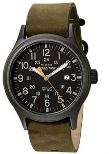 Timex Expedition Scout Leather
