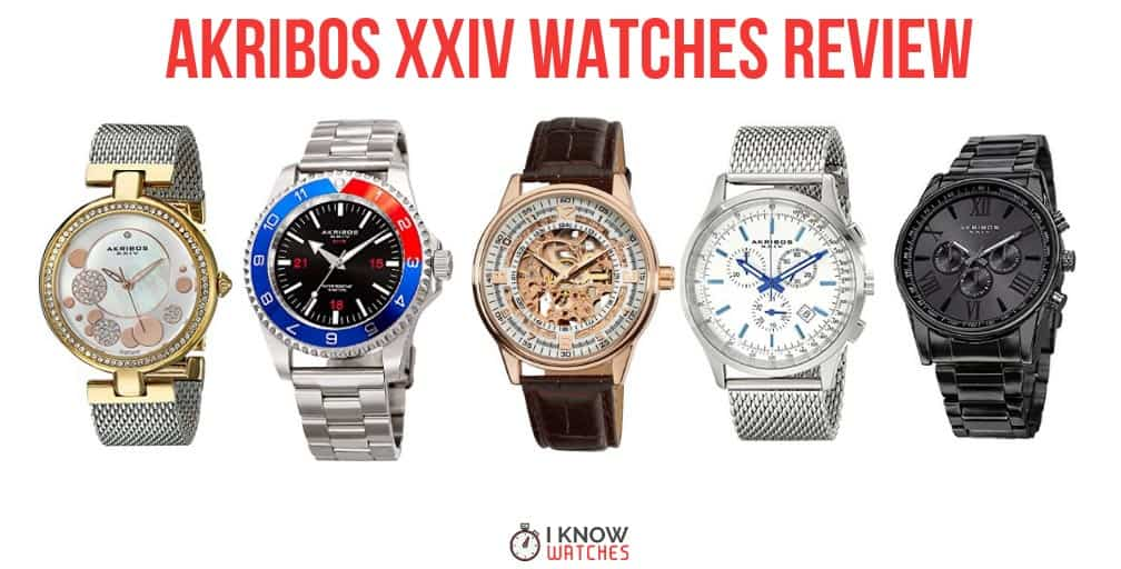 akribos xxiv watches review