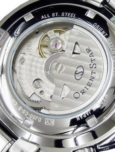 Orient Star Seeker GMT Case Back