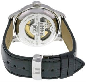 Tissot Le Locle Automatic Transparent Case Back And Leather Strap
