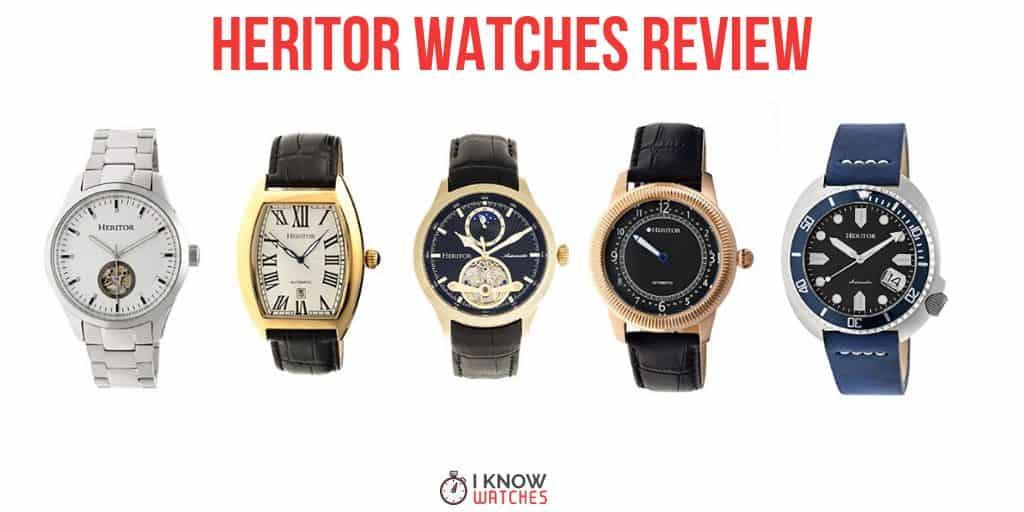 Heritor Watch Reviews An Unknown Gem
