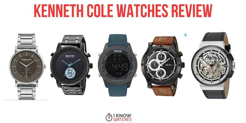 kenneth cole watches review