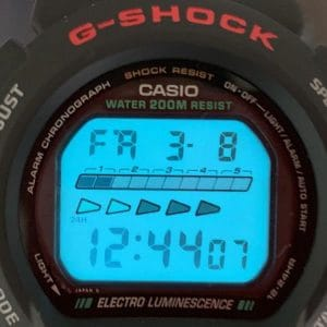 g-shock dw-6600 closeup