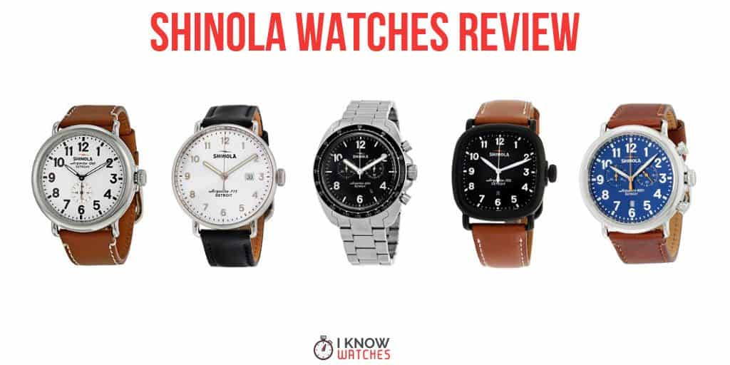 shinola luxury watches review
