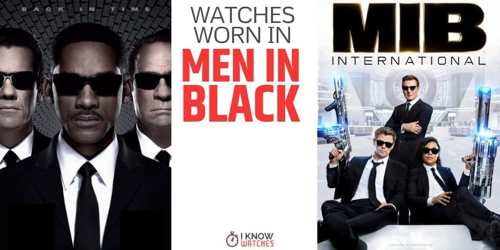 watches in men in black
