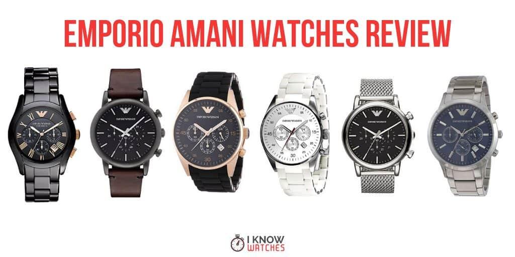 emporio amani watches