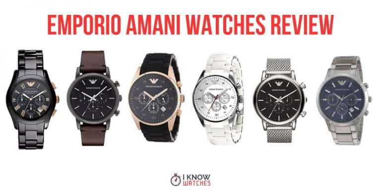 emporio amani watches