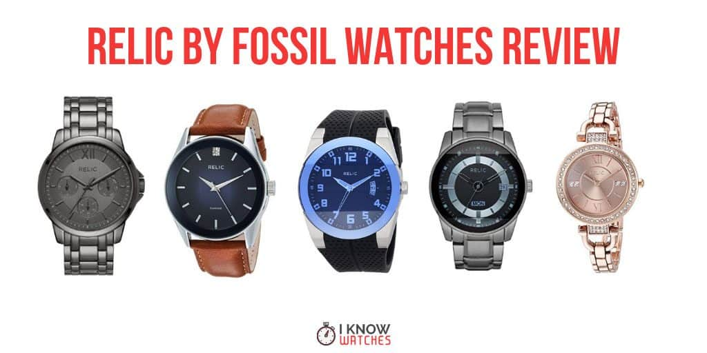 relic fossil watches