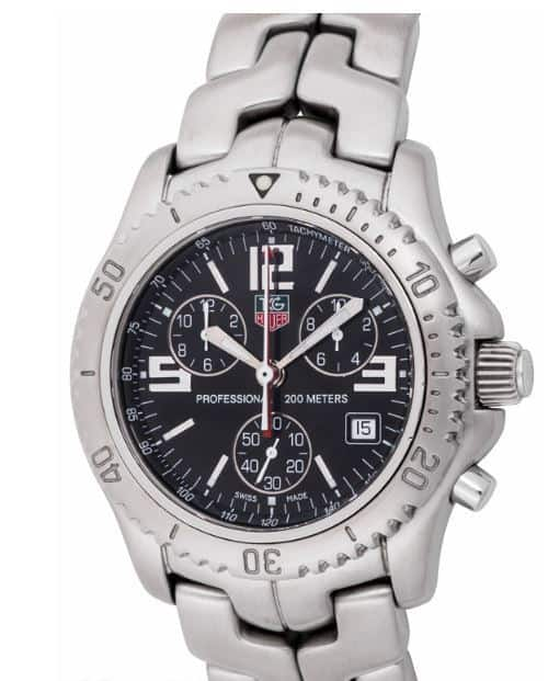 Jason Bourne TAG Heuer Link Chronograph CT1111.BA0550